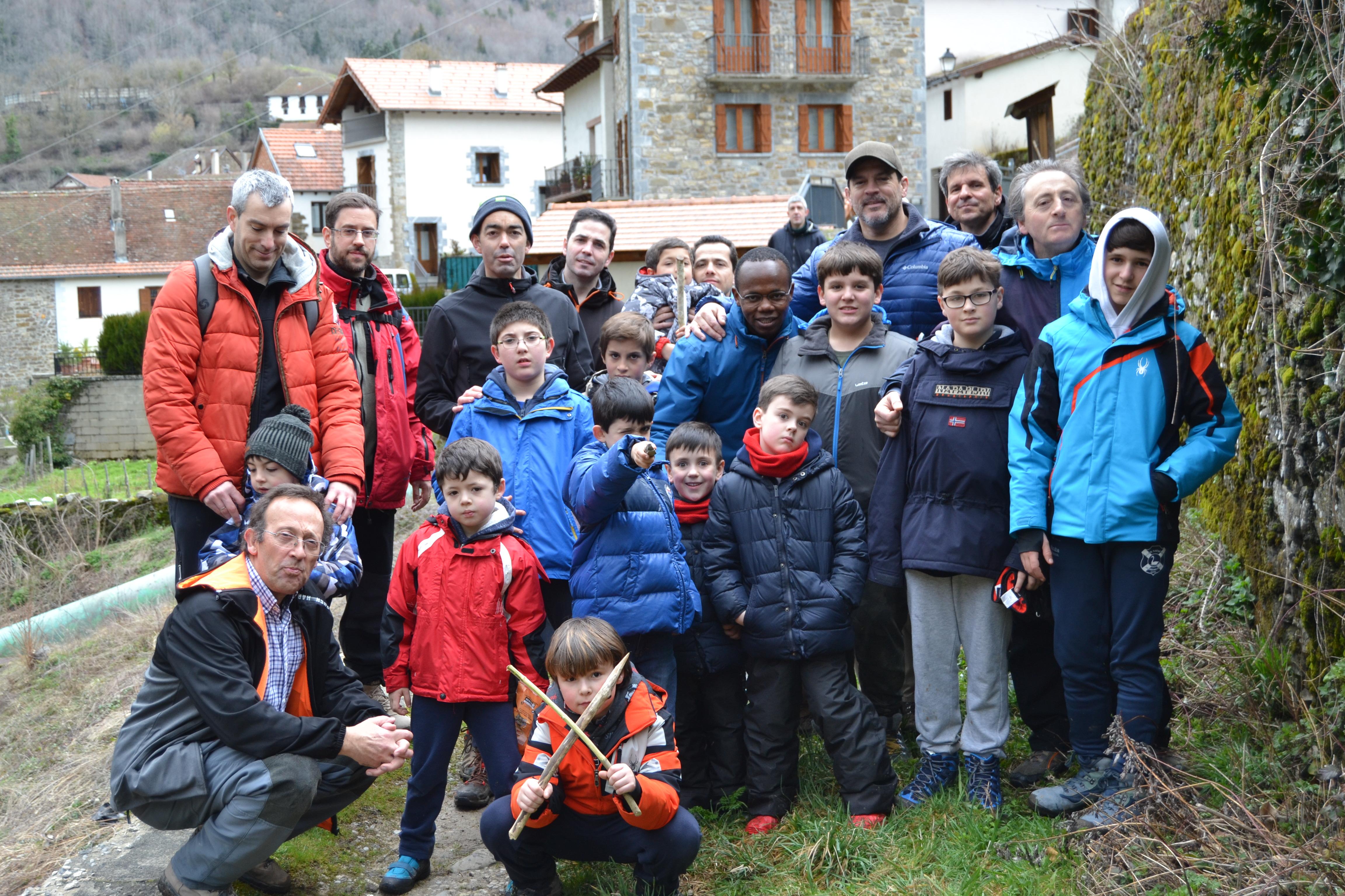 Convivencia Padres+Hijos en Belabarce 2018