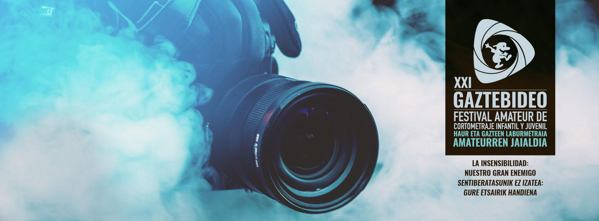 Gaztebideo XXI Festival Amateur de Video Juvenil